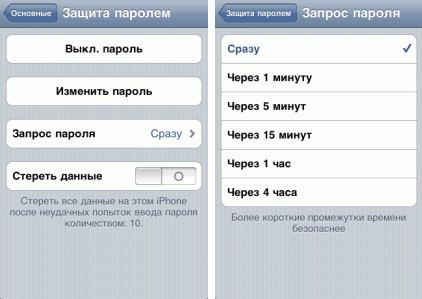 Як поставити пароль на iPhone?