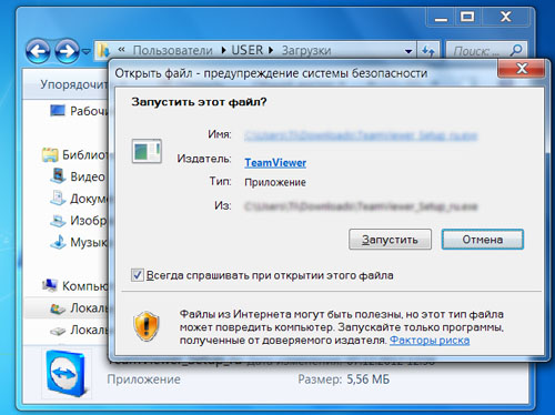 program TeamViewer - image 2
